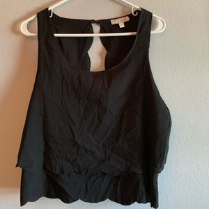 Black Scallop Tank